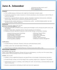 Pharmacy Technician Resume Examples Adorable Veterinary Technician Resume Templates Here Are Vet Tech Resume