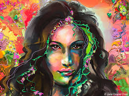 Digital Portrait Painting Traditional Painting Vs Digital Painting A Process Comparison