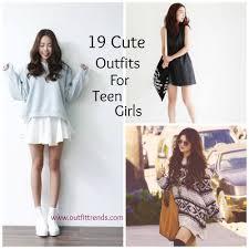 Daily dresed teen girls