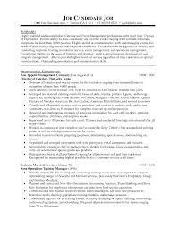 Resume Event Planner Resume