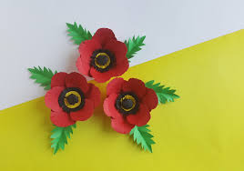 Make A Paper Poppy Flower Simple Paper And Poppies Craft Tutorial For All Ages