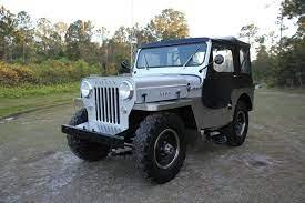 1954 Jeep Willys Cj 3 High Hood 2 2l Cj3 For Sale Willys Jeep Willys Classic Jeeps