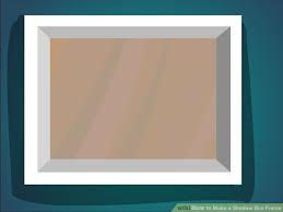 image titled make a shadow box frame step 7