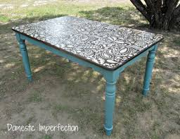 painted table ideasGet Inspired Kitchen Table Makeovers  How to Nest for Less