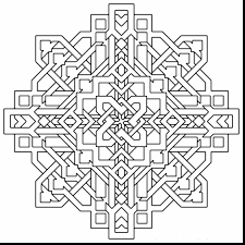 Printable Coloring Pages geometric shape coloring pages : incredible geometric pattern coloring pages with free geometric ...