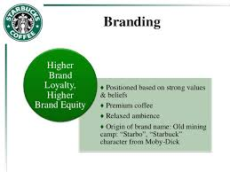 strategic marketing a case study of starbucks branding