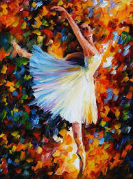 ballet palette knife oil painting on canvas by leonid afremov size on wanelo