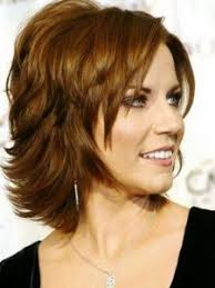 hairstyles for women over 50 short thick heavily layered locks