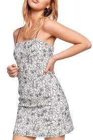 Angie Jacquard Dress Ladies Clothing Dresses Bardot