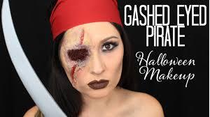 gashed e pirate makeup tutorial exquisite glow