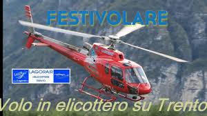 Festivolare 2016 - Volo in elicottero su Trento - YouTube