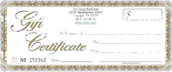 How To Make A Gift Certificate How To Create A Gift Certificate In Word Create A Gift