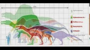 Dinosaur Sizes Comparison Chart Dinosaur Size Chart Youtube