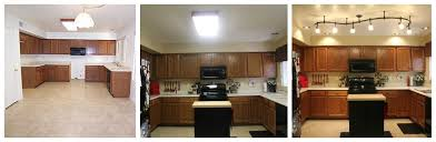 kitchen with track lighting. Replacing Fluorescent Light Fixture In Kitchen With Track Lighting Gallery Also Replace Images C