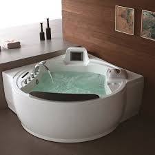 ... Bathtubs Idea, Awesome Massage Bathtub Bubble Jet Spa Creative Home  With Water And Faucet And ...