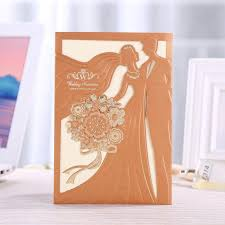philippines 50 sets 1809200y1 elegant laser cut wedding gown invites party or special occasion