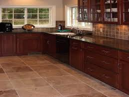 Kitchen Tile Floor Designs