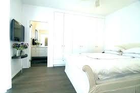 bedroom built in bed
