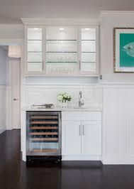 lit kitchen cabinets