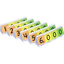 Primary Flip Charts Mini Primary Place Value Flip Charts