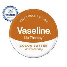 vaseline lip therapy cocoa er tin