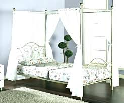 Full Size Canopy Bed Frame Frame Queen Canopy Bed Full Size ...