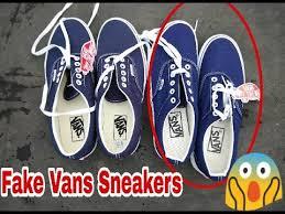 Fake Vans How To Spot Fake Vans Sneakers Real Vans Era Vs Fake
