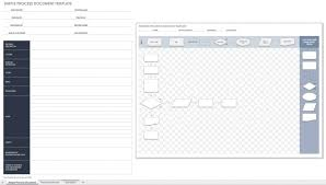 013 New Process Flow Excel Template Exceltemplates Ideas