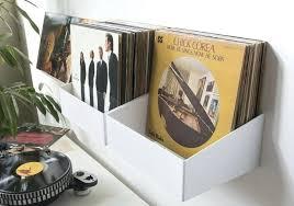 vinyl record wall mount medium size of record shelf wall mounted contemporary steel shelves oak storage