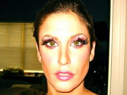 if you want to get the barbie look or are dressing like barbie for or a party this is really fun i did this look for