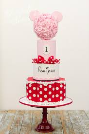 minnie mouse tiered fl cake
