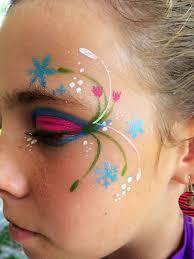 frozen face paint on face paintings face