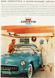1956 Chevrolet Corvette ad | CLASSIC CARS TODAY ONLINE