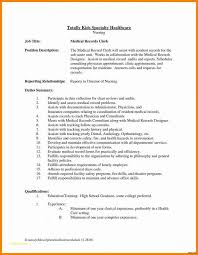 Coding Specialist Sample Resume Unique Medical Billing And Coding Resume Best Of Job Description Medical