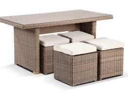 rattan coffee table ottoman wicker small resin large round outdoor