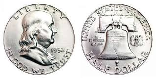 1952 D Franklin Silver Half Dollar Sexually Dangerous
