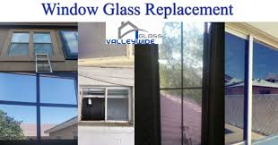 home and business glass replacement after pictures
