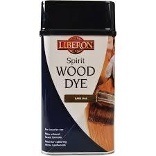 Liberon Sddo1l 1l Spirit Wood Dye Dark Oak