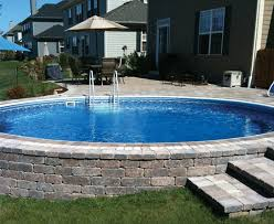 click on the photo below to view semiinground pool photos or click photos gallery page partial above ground pool h64
