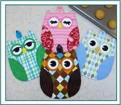 Hot Who Owl Hot Pads - Pattern - Sew Sisters Online Store ... & Hot Who Owl Hot Pads - Pattern Adamdwight.com