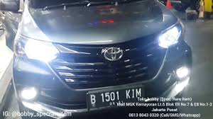 All New Avanza Upgrade Foglamp Led Toyota Crown 2018 New Concept