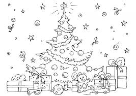 Small Picture 20 Free Printable Christmas Tree Coloring Pages