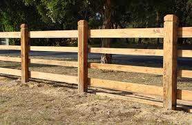 Wood Farm Fence Styles 4 Rail Board Fence With Cover Boards Wood
