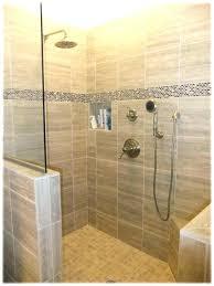 showers shower half wall glass grad medium size door mount