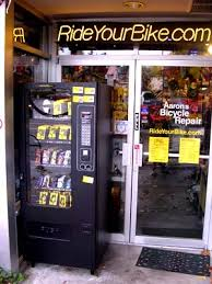 Vending Machine Repair Course Impressive Inner Tube Vending Machine At Aaron's Bicycle Repair