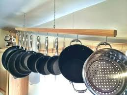 stainless steel wall mounted pot rack with shelf and pan diy wal wall mounted pot rack