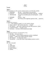 enjoy english Тест по УМК М З Биболетова класс unit doc  enjoy english 7 Тест по УМК М З Биболетова 7 класс unit 2