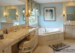 traditional bathroom designs. Marble Countertops Complement Cabinetry Traditional Bathroom Designs