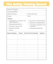 free workout log safety training schedule template sign in sheet templates