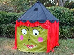 How To Make A Tent Halloween Ikea Hack Turn A Circus Tent Into A Witch Tent Diy